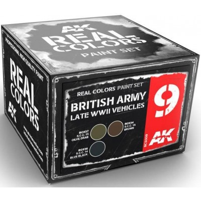 BRITISH ARMY Late WW II VEHICLES - AK Interactive RCS009