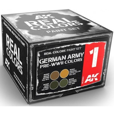 GERMAN ARMY PRE-WW II COLORS - AK Interactive RCS001