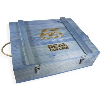 WOODEN TRANSPORT BOX, Real Colors AIR Special edition - AK Interactive RC WOOD AIR