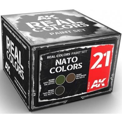 NATO COLORS - AK Interactive RCS021