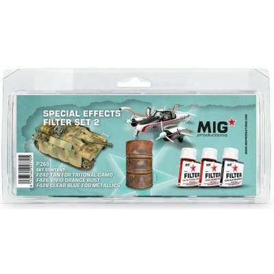 SPECIAL EFFECTS FILTER SET 2 - MIG Productions P268