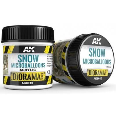 DIORAMA Series: SNOW MICROBALLONS (100 ml) - AK Interactive AK8010