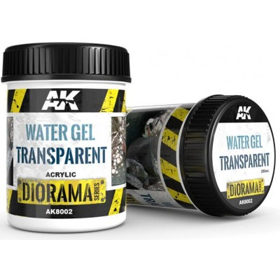 DIORAMA Series: WATER GEL TRANSPARENT (250 ml) - AK Interactive AK8002