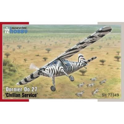 DORNIER DO-27 Servicio Civil 1/72 - SPECIAL HOBBY SH72349