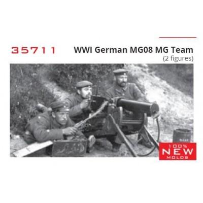 AMETRALLADORA MG-08 & DOTACION -1/35- ICM 35711