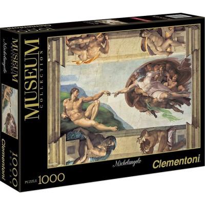 PUZZLE 1000 PZS LA CREACION - MIGUEL ANGEL - CLEMENTONI 39496