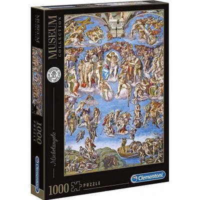 PUZZLE 1000 PZS MICHELANGELO EL JUICIO UNIVERSAL - CLEMENTONI 39497