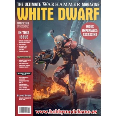 REVISTA WHITE DWARF MARZO 2019 EN INGLES