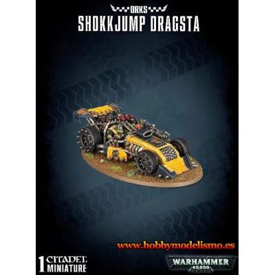 ORKS SHOKKJUMP DRAGSTA - GAMES WORKSHOP 50-34