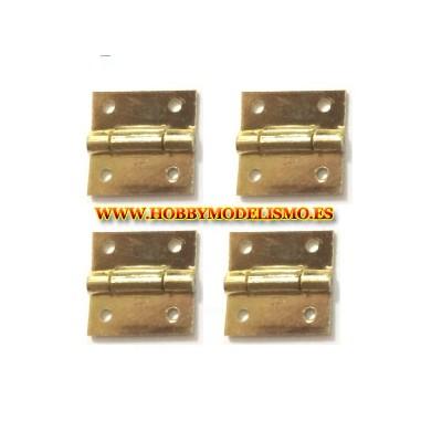 BISAGRA (10 x 10 mm) 4 unidades - Amati 604000