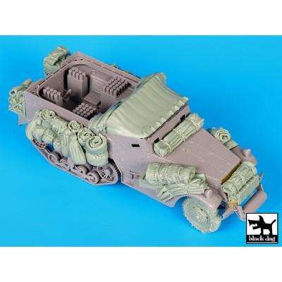 SET ACCESORIOS HALF TRACK M-4 MORTERO (Big set) -1/35- Black Dog T35123