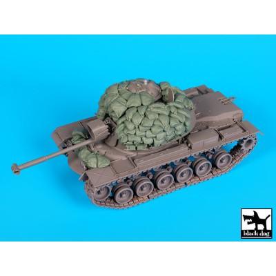 SET ACCESORIOS M-48 A3 PATTON -1/35- BLACK DOG T35163