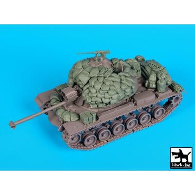 SET ACCESORIOS M-48 A3 PATTON (Big Set) -1/35- BLACK DOG T35162
