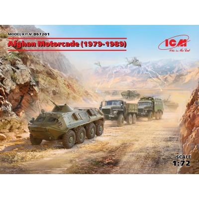 SET CONVOY EN AFGANISTAN (1979–1989) -1/72- ICM DS7201