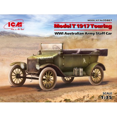 FORD Model T (1917) Touring Ejercito Australiano -1/35- ICM 35667