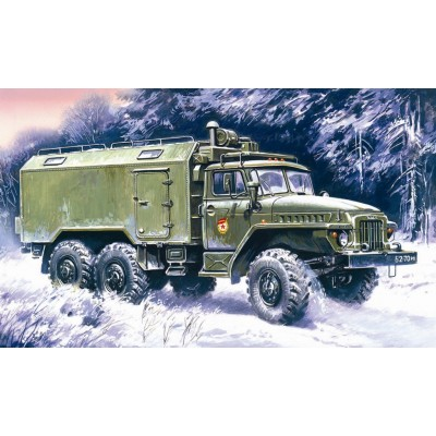 CAMION URAL-375 A -1/72 - ICM 72712