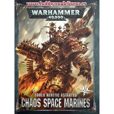CODEX CHAOS SPACE MARINES EN ESPAÑOL - GAMES WORKSHOP 43-01 (VERSION 2019)