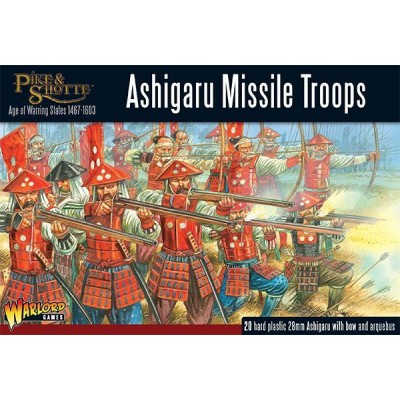 ASHIGARU MISSILE TROOPS (20 Figuras) -1/56- Warlord Games 202014003