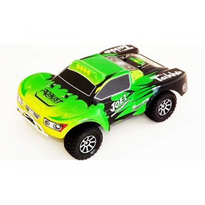 COCHE RC ELECTRICO VORTEX SHORT COURSE 1/18 wl toys a969 verde CAJA RK