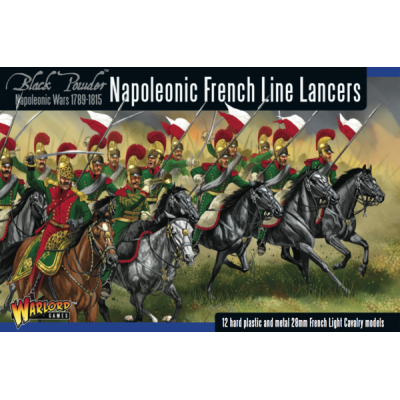 NAPOLEONIC FRECH LINE LANCERS (13 MINIATURAS) 28mm-1/56 - WARLORD GAMES 302012003