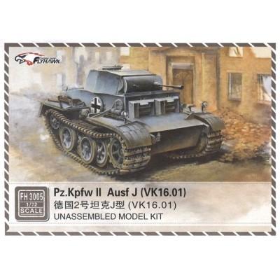 CARRO DE COMBATE Panzer II Ausf. J (VK16.01) -1/72- FlyHawk Model FH3005