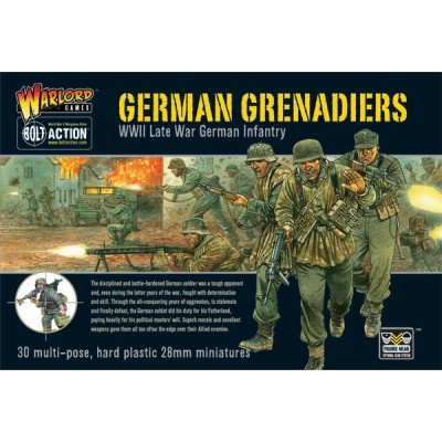 GRANADEROS ALEMANES (30 Figuras) -1/56- Warlord Games WGB-WM-09
