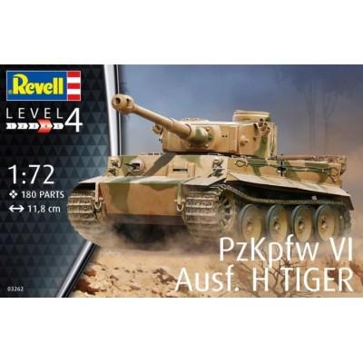 CARRO DE COMBATE Sd.Kfz. 181 Ausf.H TIGER I -1/72- Revell 03262