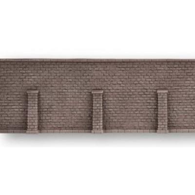 MURO GRANITMAUER CON SOPORTES 13.5x12,5mm ESCALA H0 - NOCH 58274
