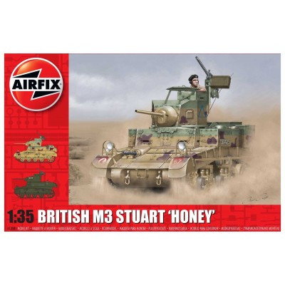 "CARRO DE COMBATE M-3 STUART ""Honey"" 1/35 - Airfix A1358"