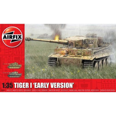 CARRO DE COMBATE SD.KFZ. 181 TIGER I E Early 1/35 - Airfix A1363
