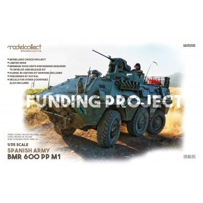 TRANSPORTE DE TROPAS BMR 600 M1 -1/35- Modelcollect UA35200