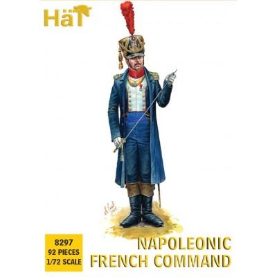 OFICIALES NAPOLEONICOS FRANCESES (92 Piezas) -1/72- Hat 8297