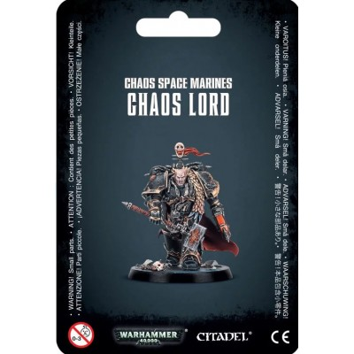 CHAOS SPACE MARINES CHAOS LORD - GAMES WORKSHOP 43-62