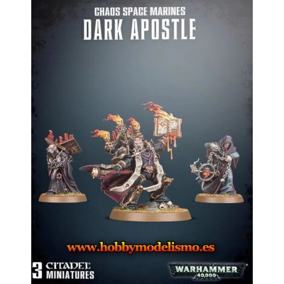 CHAOS SPACE MARINES DARK SPOSTLE - GAMES WORKSHOP 43-37