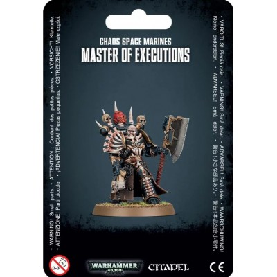CHAOS SPACE MARINES MASTER OF EXECUTIONS - GAMES WORKSHOP 43-44