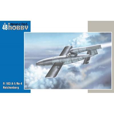 BOMBA VOLANTE FIESELER Fi-103 A-1/ Re-4 -1/48 - Specia Hobby 48190