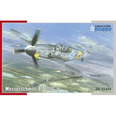 MESSERSCHMITT Bf-109 G6 -1/72- Special Hobby SH72394