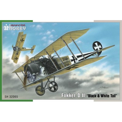 "FOKKER D.II ""Black & White Tail"" -1/32- Special Hobby SH32065"