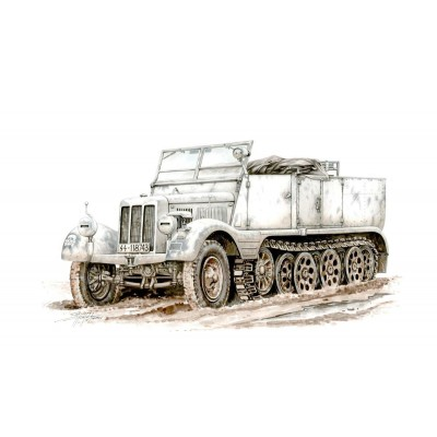 SEMIORUGA Sd. Kfz. 11 -1/72- Special Armour SA72002
