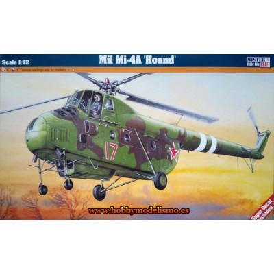 MIL MI-4 A HOUND - ESCALA 1/72 - MisterCraft 060046
