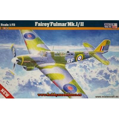 FAIRY FULMAR MK.I/II E- escala 1/72 - mister craft 042172