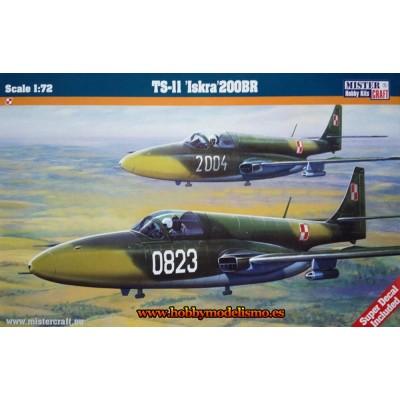PZL TS-11 Iskra 200BR- ESCALA 1/72 - Mister Craft 030216