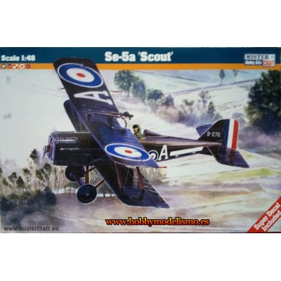 ROYAL FACTORY SE-5A SCOUT - ESCALA 1/48 - MISTER CRAFT 042332
