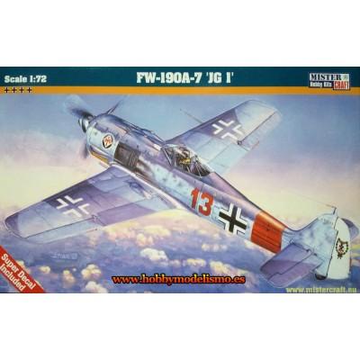 FOCKE WULF Fw-190 A-7 JG.1 - Mister Craft 030049