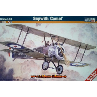 SOPWITH CAMEL - ESCALA 1/48 - MISTER CRAFT 042318
