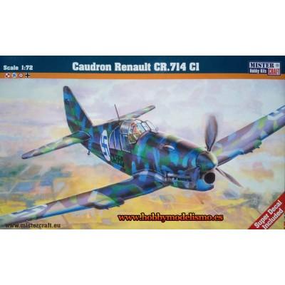 CAUDRON RENAULT CR.714 C1 - ESCALA 1/72 - MISTER CRAFT 020064
