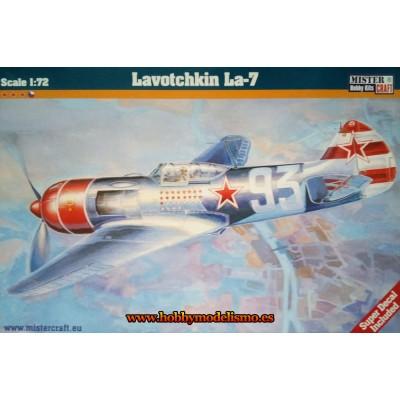 LAVOTCHKIN LA-7 - ESCALA 1/72 - MISTER CRAFT 042189