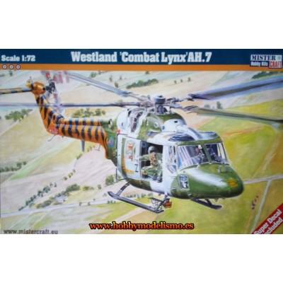 WESTLAND COMBAT LYNX AH.7 - ESCALA 1/72 - MISTER CRAFT 040314