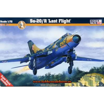 SUKHOI SU-20R LAST FLIGHT - ESCALA 1/72 - MISTER CRAFT 040130