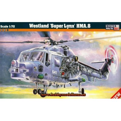 WESTLAND SUPER LYNX HMA.8 - ESCALA 1/72 - MISTER CRAFT 040024